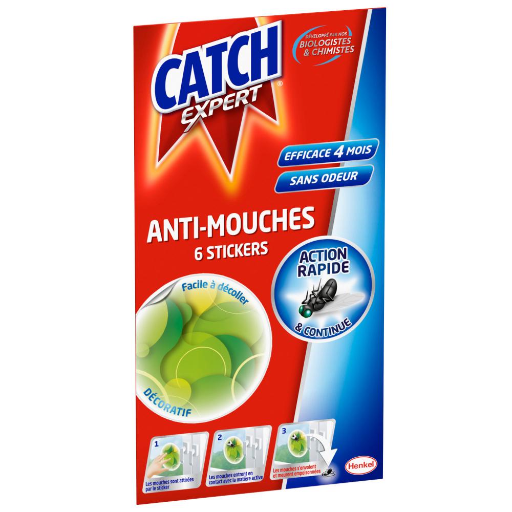 Catch Sticker.mouche.vert X6