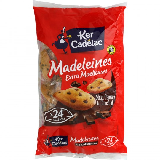 Sachet Madeleine Pepite Choc 4