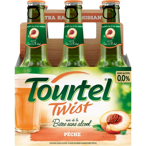 Tourtel Twist Peche 6x27,5cl 0