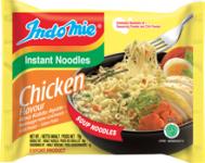 Cup nouilles instantanées saveur poulet 60 g halal INDOMIE