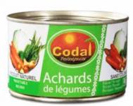 Achards de légumes CODAL