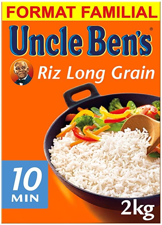 Riz Lg Grain 10mn Ub 2kg