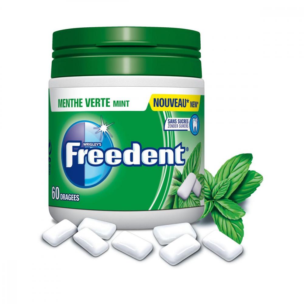 Freedent Box Menthe Verte 84g