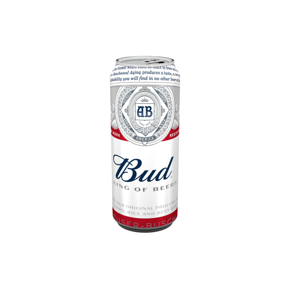 Biere Bud 50cl Boite 5d