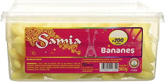 Bonbons Bananes Tubos 200p