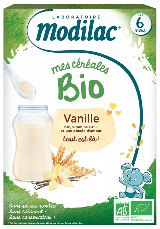 Mes Cereales Bio Vanille 250g