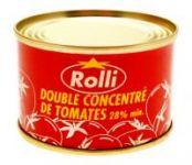CONCENTRE DE TOMATE ROLLI BOITE 1 - 12 X 32 X 3 X 70 G