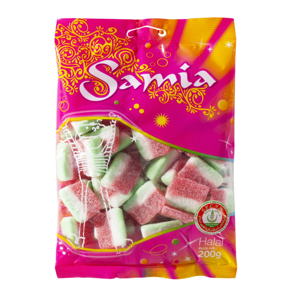 Bonbons Samia Pasteques 200g