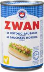 SAUCISSES HOT-DOG POULET ZWAN