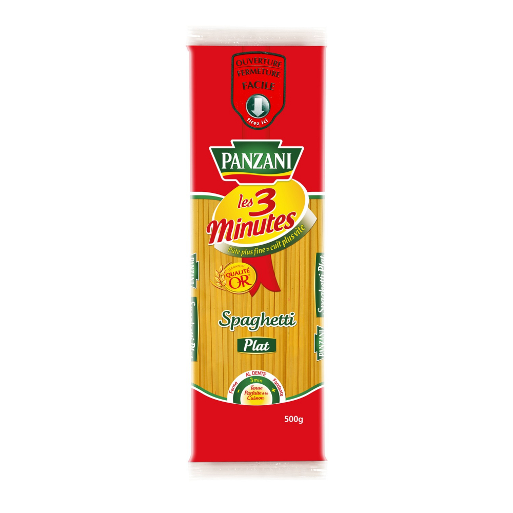 Pzn Spaghetti Plat 500g