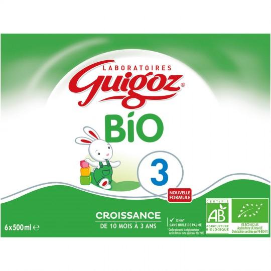 Guigoz 3eme Bio 6x500ml