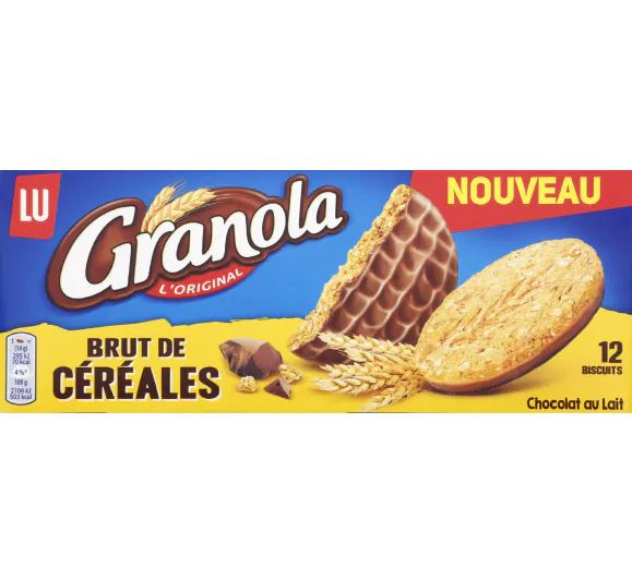Granola Brut Cereales 168g