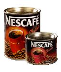Café instantané 100% Robusta NESCAFE