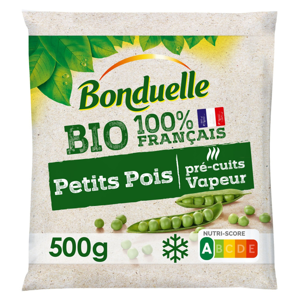 Petits Pois Bio 500g