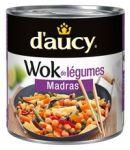 Wok Legumes Madras Daucy 290g