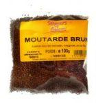 MOUTARDE BRUNE ENTIER SAVEURS DES EPICES 20 X 100 G