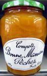 Compote Peche Bm Boc.600g