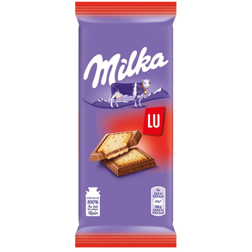 Milka 2x87g Petit Lu Tab.