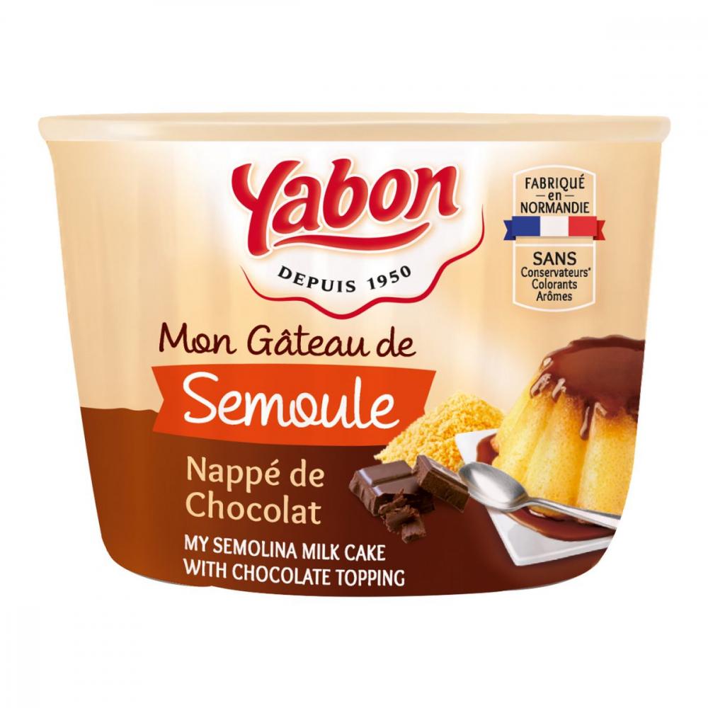 Gateau Semoule Chocolat 420g