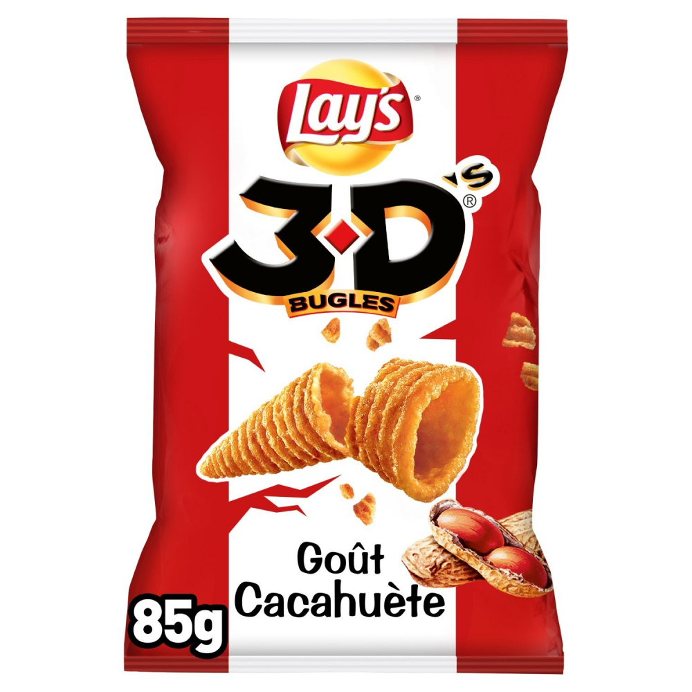 3d's Bugles Cacahuete 85g