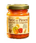 Purée de piment extra-forte au gingembre RACINES