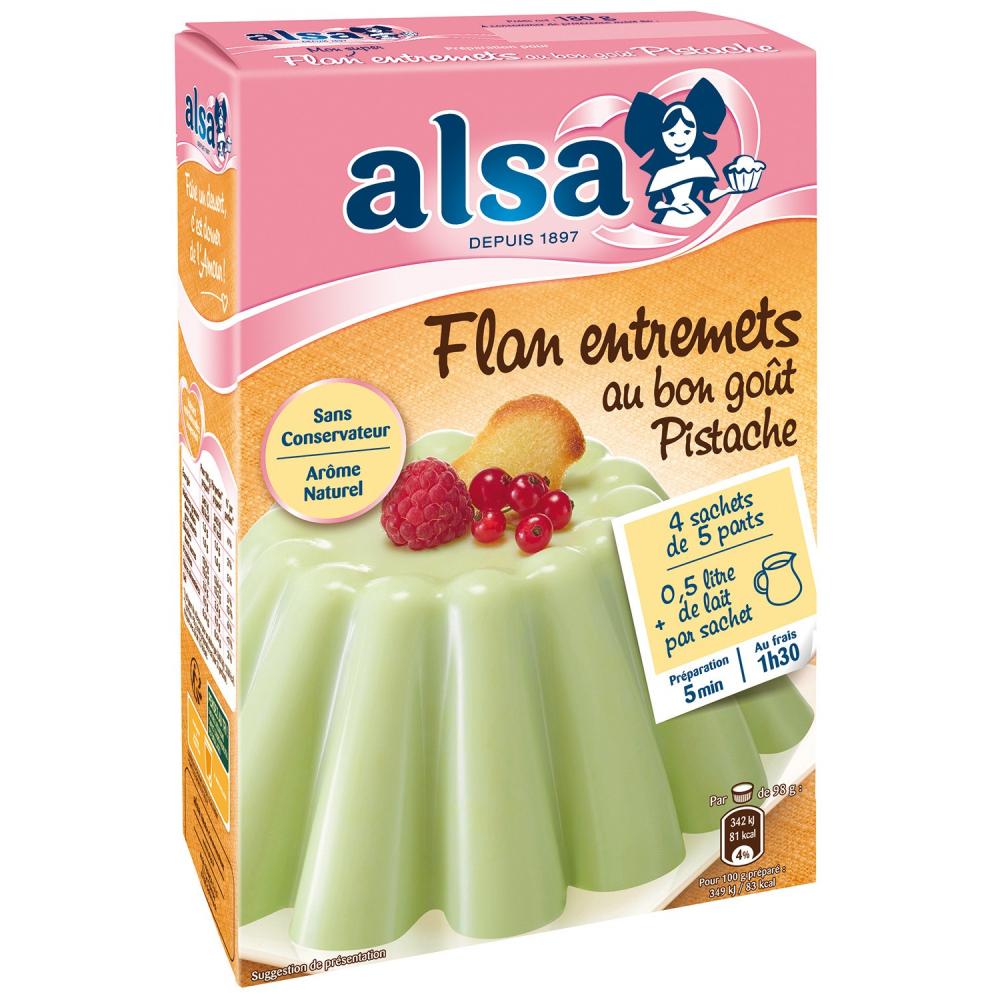 Alsa Entremets Pistache 180g