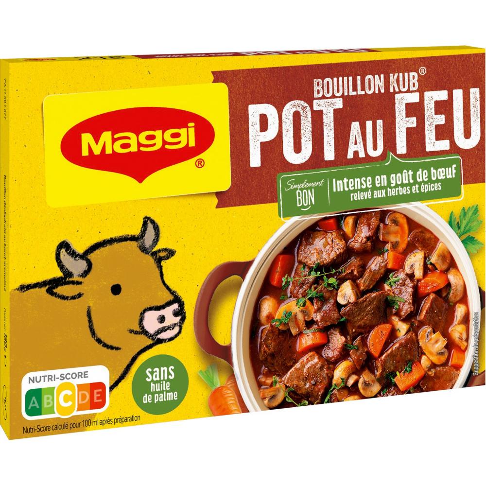 Maggi Bouill Pot Au Feu 180g