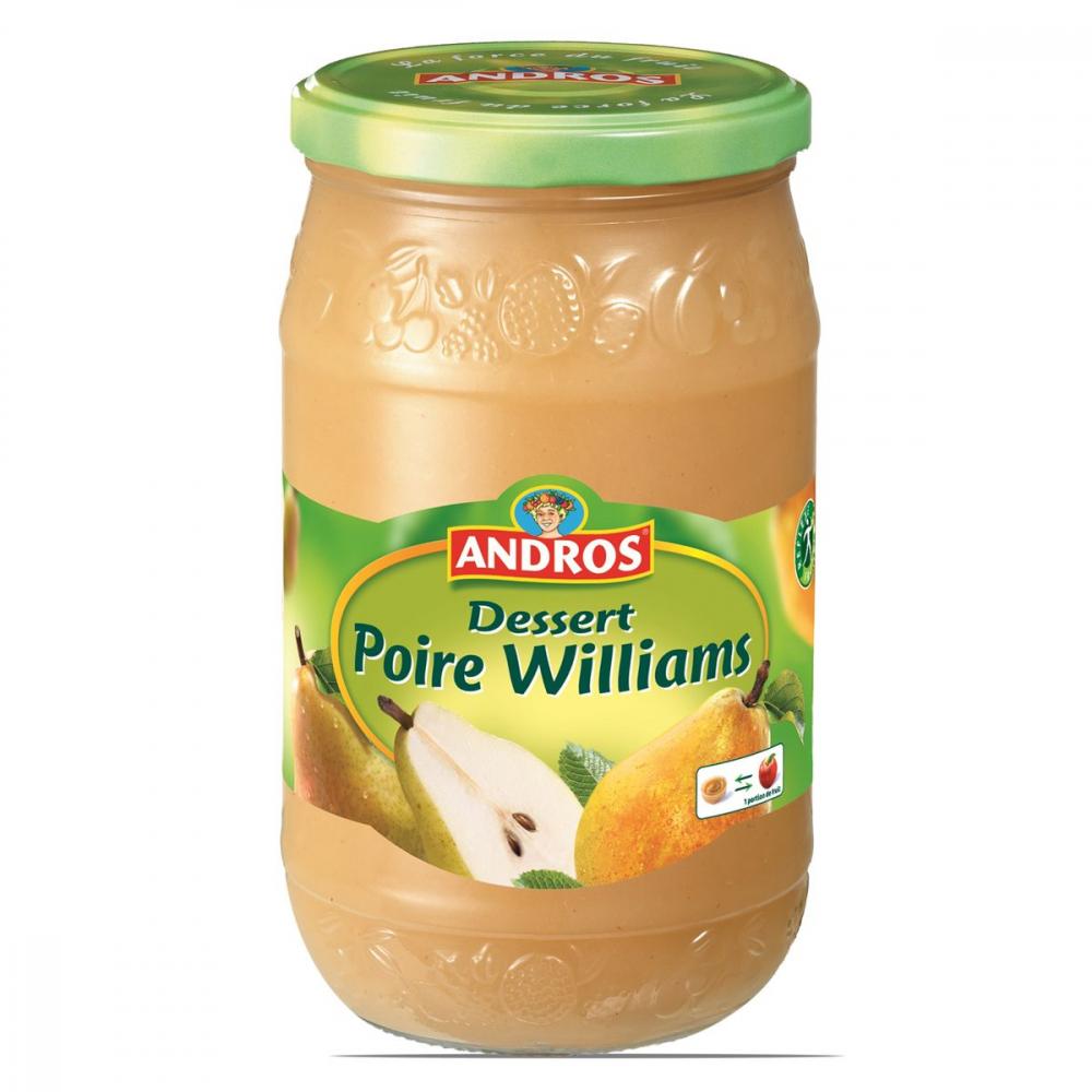 Dessert De Poires 750g
