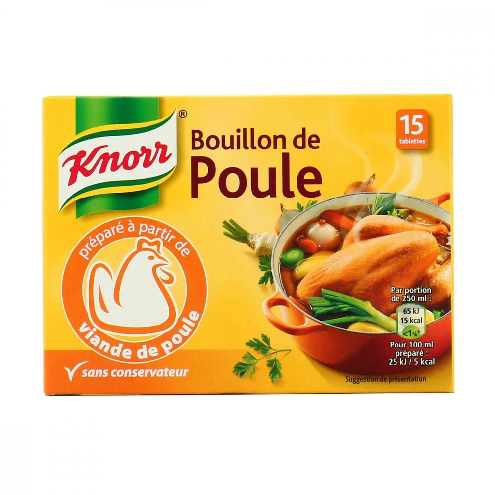 Bouillon Gean.poul.knor150g