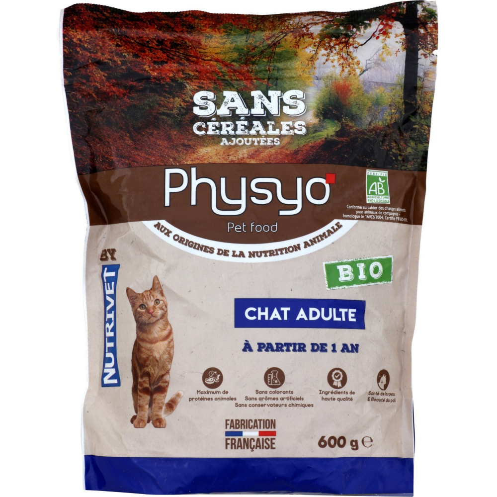 Physyo Bio Chat Adulte 600g
