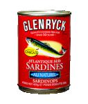 Sardines au naturel GLENRYCK