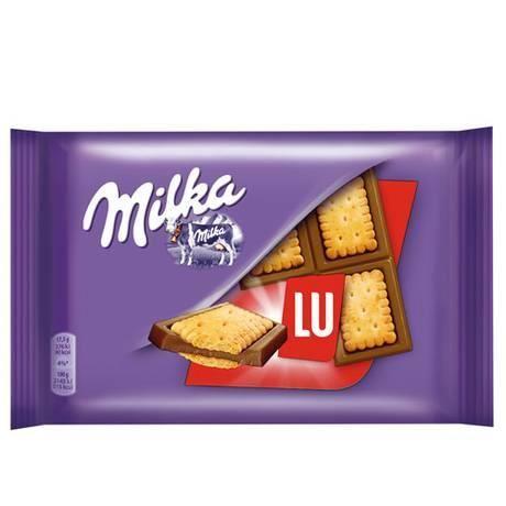 Milka Lu Tablette Pocket 35g