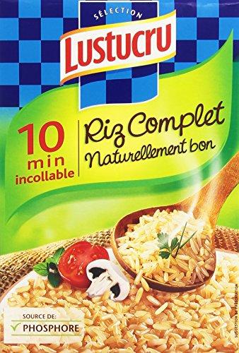 Riz Lustucru Complet 450gr