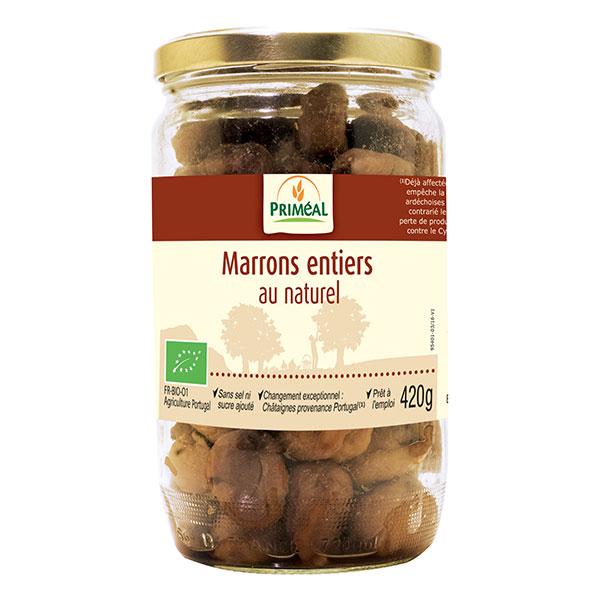 Marrons Au Naturel Pot 420g