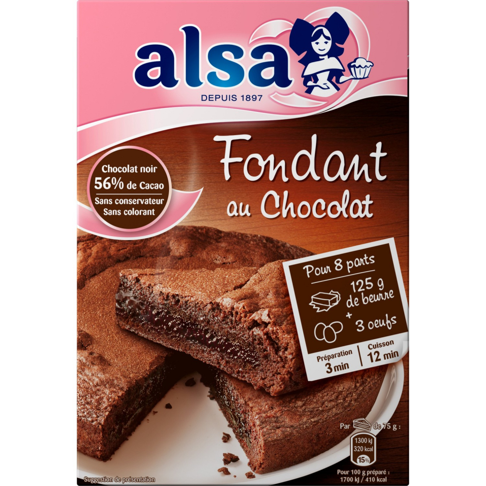 Alsa Fond.choc.mamie 320g