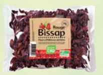 Fleurs de bissap rouge séchées bio RACINES BIO