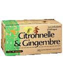 Infusion d'Afrique citronnelle-gingembre RACINES