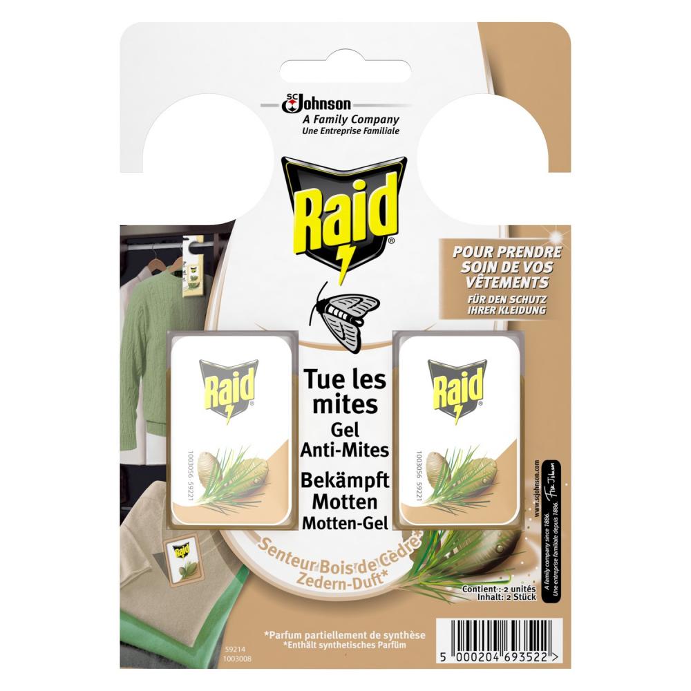 Raid Gel A-mite X2 Bois Cedre