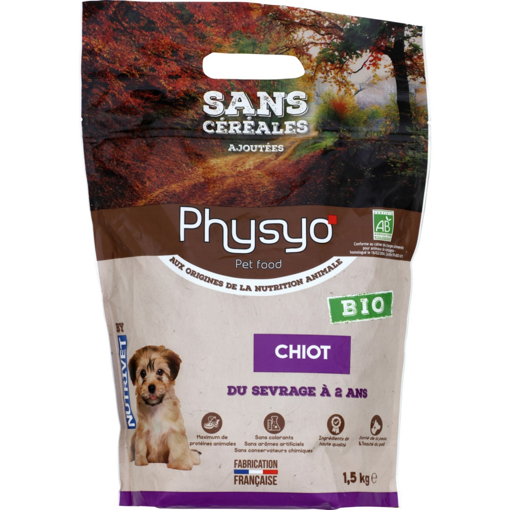 Physyo Bio Chien Chiot 1.5kg
