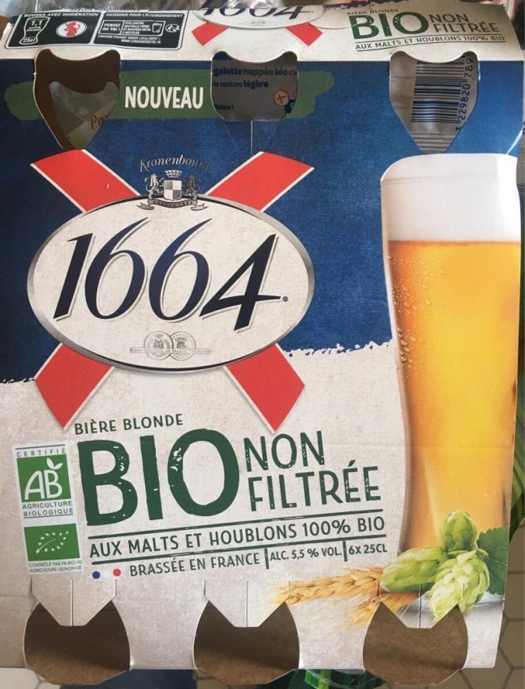 1664 Non Filtree 5,5d Bio 6x25