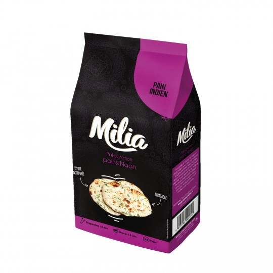 Mix Pain Naan 500g Milia