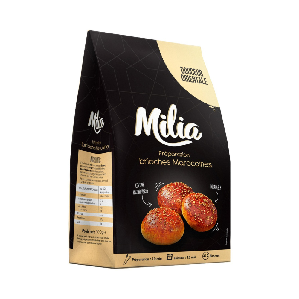 Mix Brioche Mar 500g Milia