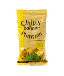Chips banane plantain salées 70 g RACINES