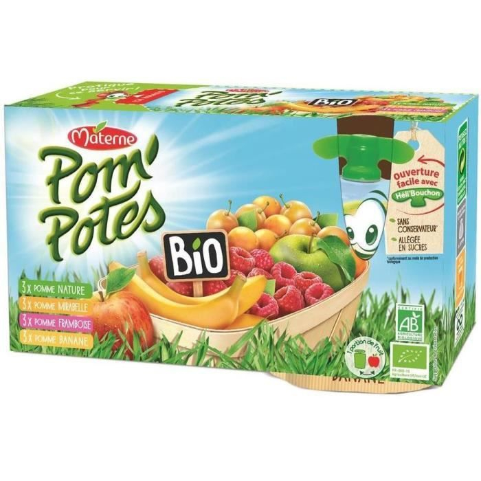 Pom'p Bio Multi.frt.12x90g
