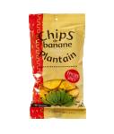 Chips banane plantain épicées 70 g RACINES