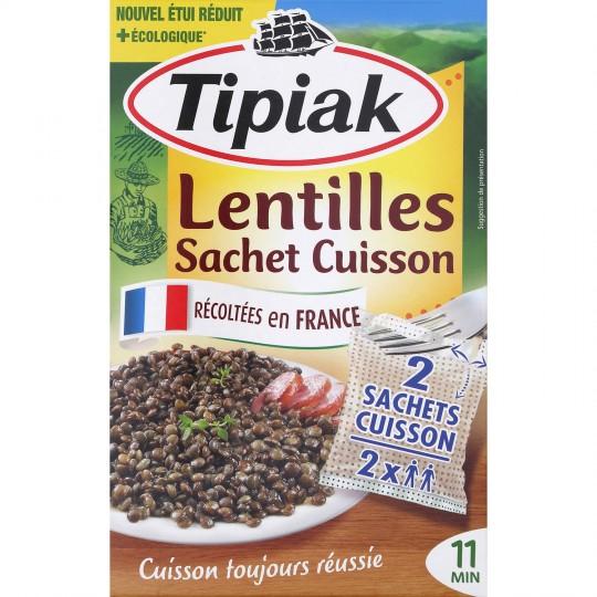 Lentilles Vertes Sc 10' 2x120g