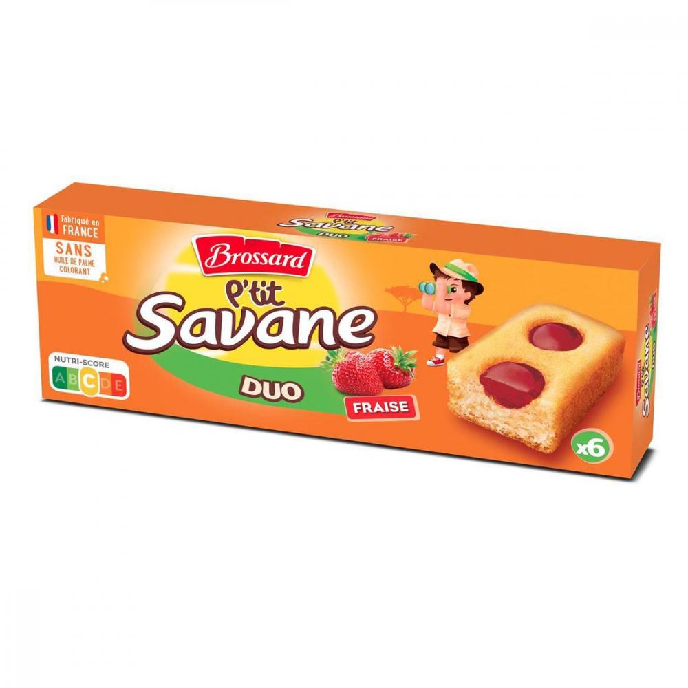 Ptit Savane Duo Fraise X 6