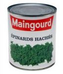 EPINARDS HACHES MAINGOURD BOITE 4 - 4 X 12