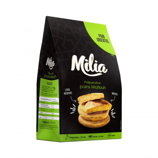 Mix Pain Matlouh 500g Milia