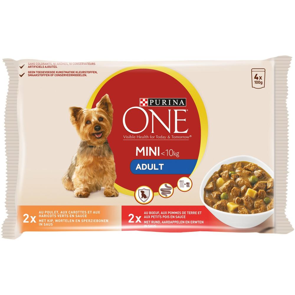 One Mini Adulte Boeuf/poulet 4